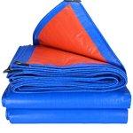DHMHJH Bâche imperméable épaissie, Tissu imperméable extérieur imperméable à l'eau de Construction de Camion de Tissu de Protection Solaire de Tissu (Taille : 4x8m)