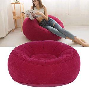 Snufeve6 Canapé Simple, canapé Gonflable, intérieur extérieur pour Le Cadeau de Jardin de Balcon de Salon(Red)