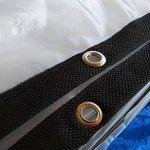 DHMHJH Bâche – bâche imperméable à l'eau Transparente, Toile Froide Isolante en Plastique de Tente d'isolation (Taille : 3x4m)