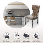 Hainter Housse de chaise universelle en plastique Transparent