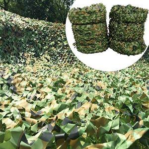 Rideau Filet de Camouflage Protection Solaire, Couverture de – Jungle Camping Tir Chasse Filet de Décoration de Fête Enfants en Plein Air Nerf War Party Cachant Protection ( Size : 4X8m(13ft X 26ft) )