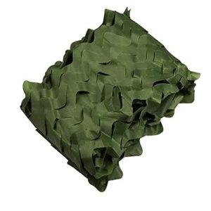 rouleau de treillis de camouflage,sursac camouflage abris de camping tente camouflage,pour abris de jardin pas cher De Chasse Militaire voile de camouflage (Size:1.5x10M=5X33FT,Color:armée verte)