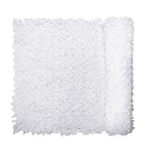 YiDD Net de Camouflage Blanc et Durable de Camouflage, utilisé pour Le Jardin, Bar, décoration de Camping, Banquet, décoration de fête 2x3m 6.5×9.8ft, 2x4m 6.5×13.12ft (Size : 4x8m .12×26.24ft)
