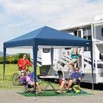 3×3 Tente Tonnelle Pliante imperméable Gazebo 3x3m Tonnelle de Jardin Tente de Reception