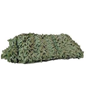 Bricolage Filet Camouflage 3D Filet Camouflage Chasse,Camouflage Militaire bache ombrag pergola,pour Parasol Chasse Outdoor Filet Net(Size:3x6m/9.84×19.68FT,Color:armée Verte)