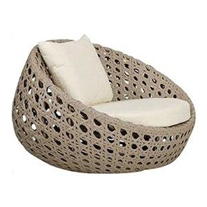 Canapé de Jardin Canapé extérieur en rotin, canapé Simple avec Coussins, Meubles résistants au Soleil et imperméables pour Balcon (Color : Style 2)