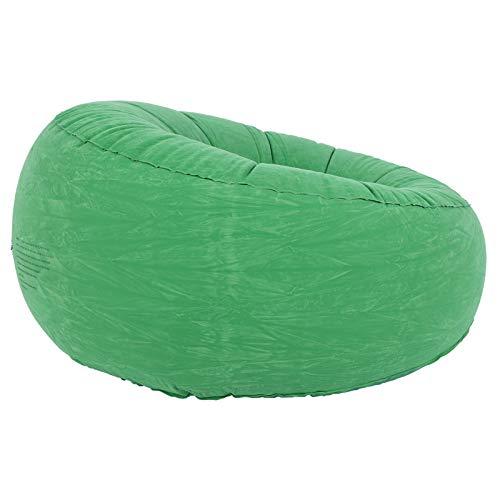 Changor Canapé Gonflable Gracieux, Chaise de canapé en Flocage et Confort Maximum en PVC 100x100x555cm pour Salon Balcon Jardin