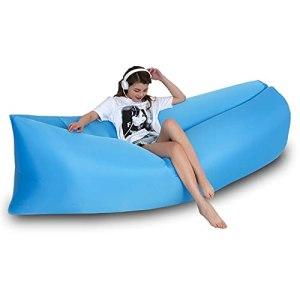 FANGPAN Camping canapé Gonflable Paresseux Sac de Couchage ultraléger en Duvet lit d'air canapé Gonflable Sacs de Couchage