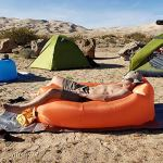 FANGPAN Canapé Gonflable Camping Paresseux Sac 3 Saisons ultraléger Sac de Couchage en Duvet lit d'air canapé Gonflable Chaise Longue Produits Tendance Sacs de Couchage