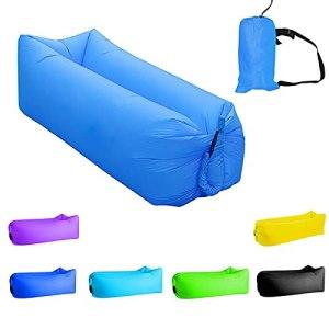 FANGPAN Sac de Couchage extérieur Rapide Infaltable Canapé-lit Camping Ultraléger Canapé Gonflable Lit d'air Sac Paresseux Canapé de Plage