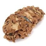 filet camouflage renforce desert filet de camouflage ombrage,abri militaire Militaire Couverture,Pour jardin, loisirs, camping, fête, bar, décoration de chasse(Size:3x3m/9.84×9.84FT,Color:désert)