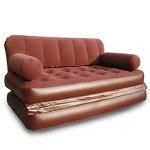 XCYY Deux dans Un Canapé Gonflable Personne Paresseuse Lit De Coussin d'air Simple Portable Portable Beach Furniture (Color : 188x148x60cm)