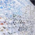YiDD Filet de Camouflage Blanc 2x3m 2x4m 2x5m 3x3m 3x4m 3x5m 6x6m 6x8m 8x8m 8x10m 10x10m Filet Camouflage Filets de Protection Solaire Thème Party Party Decoration Housses de Voiture Camo Net