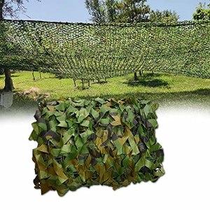 YiDD Filet de Camouflage Woodland Filet Camouflage Party Decoration Couverture de Voiture à thème Party Camo Net 2x3m 2x4m 2x5m 2x6m 3x3m 3x4m 3x5m 6x6m 6x8m 8x8m 8x10m 10x10mFilet de Ombrage