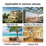 Canapé de Jardin Canapé extérieur, canapé-terrasse Bien exposée, mobilier de Jardin imperméable, canapé-rotin Tous Temps (Color : Style 13)