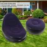 GXju- Furniture Canapé gonflable de jardin et d'extérieur – Portable – Pour le camping, la pause déjeuner, la chambre à coucher, le dortoir, petit canapé