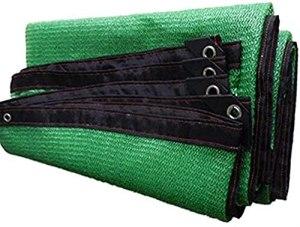 Ombre Netting Sunblock Shade Toile-Soleil Sun Shade 80% Vert Sunscreen Sunscreen Tissu Tissu Toile Extérieur Balcon Extérieur Ombraillage Net 23 Tailles (Couleur : Vert, Taille : 3x3m)