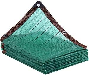 DONGQISHANGMAO Toile d'ombrage 90 % verte – Filet résistant noir – Recouvert de plantes, serres, poulaillers, tomates, plantes – Couleur : 4 x 8 m