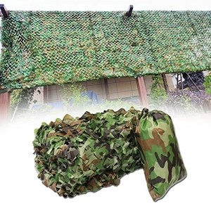 Filet de camouflage de jungle Filet Camouflage 2x3m 2x4m 2x5m 2x6m 3x3m 3x4m 3x5m 3x6m 3x8m 5x5m 5x6m 6x6m 6x8m 8x8m 8x10m 9x9m Filet de camouflage Filets de protection solaire Décoration de fête Hous