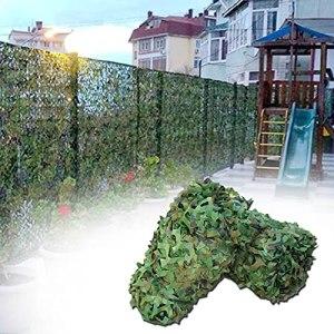 Filet de camouflage de jungle verte 2x3m 2x4m 2x5m 2x6m 3x3m 3x5m 3x6m 6x6m 6x8m 8x8m 8x10m 10x10m Filet de camouflage Filets de protection solaire Voiture Couvre de voiture Décoration de fête Fête à
