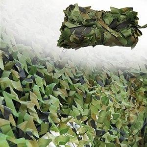 YiDD Filet de Camouflage Décoration de fête Filet Camouflage Housses de Voiture Décoration de Filet de Camouflage Camping 2x3m 2x4m 2x5m 3x3m 3x5m 3x6m 6x6m 6x8m 8x8m 8x10m 10x10mFilet Camouflage