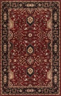 Caesar CAE-1031 Burgundy Black by Surya Carpet, Inc.