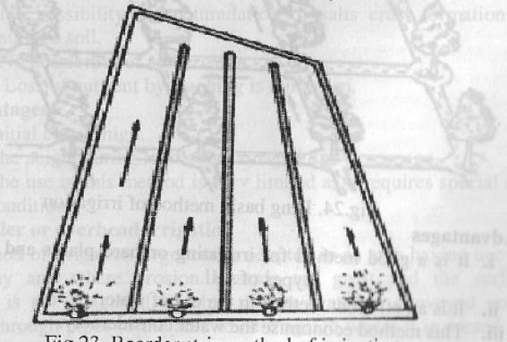 Border Strip Irrigation System