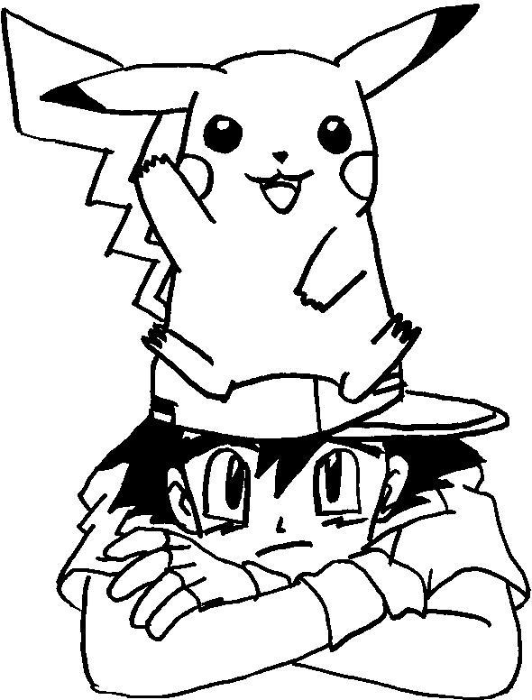 Ausmalbild Pokemon