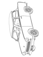 Trabant 601 Coloring Page   1001coloring.com