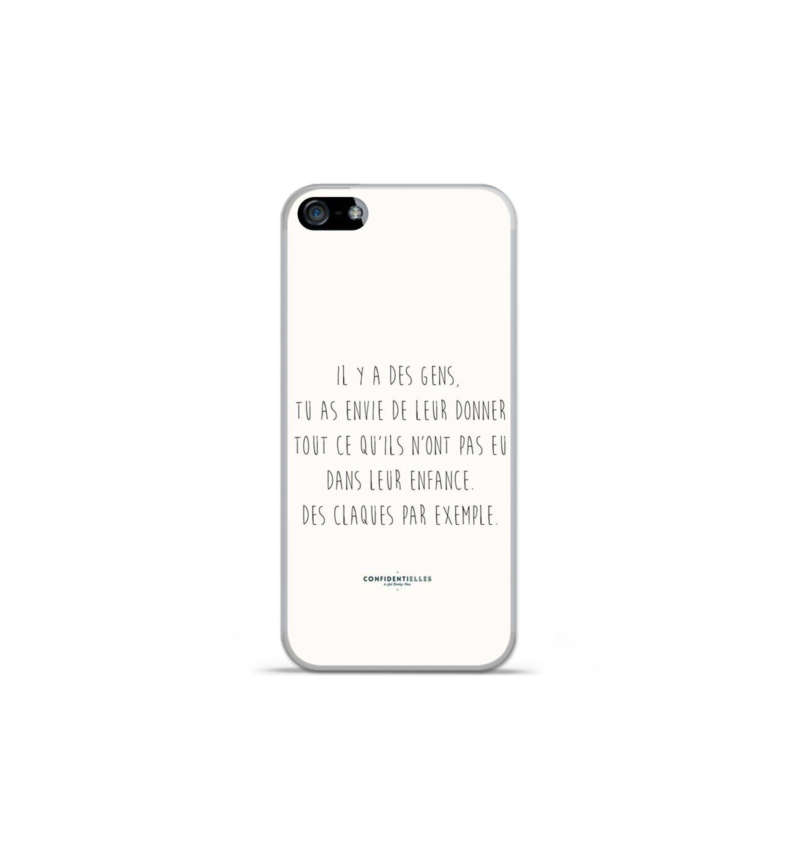 Coque En Silicone Apple Iphone 5 5s