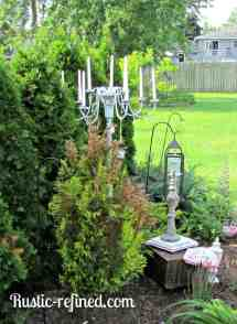 Make Outdoor Candle Chandelier - 1001 Gardens