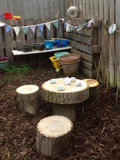 little tikes chairs inexpensive accent top 20 of mud kitchen ideas for kids • garden 1001 gardens