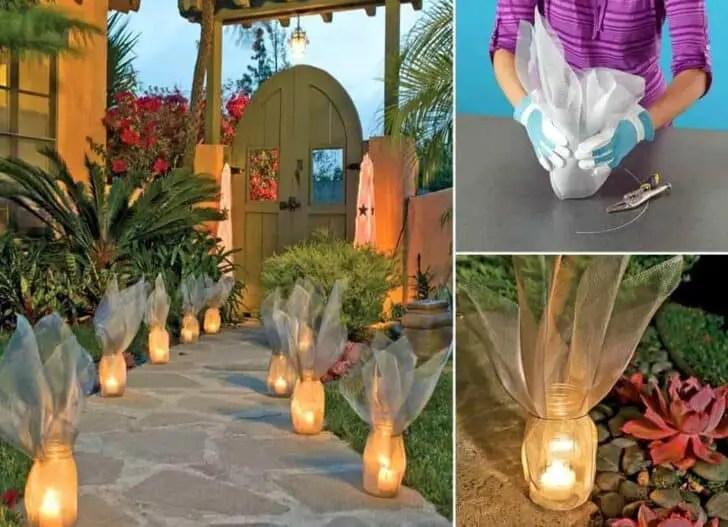 Diy Garden Luminaries  1001 Gardens