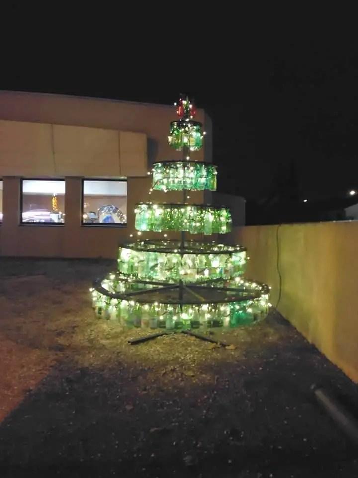Plastic Bottles Christmas Beautiful Tree 1001 Gardens