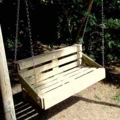 Repair Lawn Chairs Kids Outdoor Upcycled Pallet Wood Swing For Your Garden • 1001 Gardens