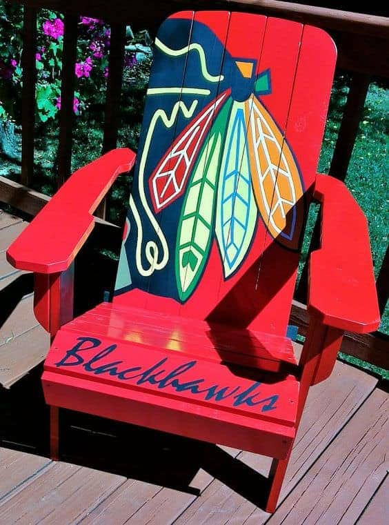 painted adirondack chairs yoga ball 10 you will love | garden decor ideas