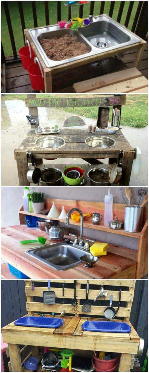 10 fun outdoor mud kitchens for kids • garden ideas • 1001 gardens