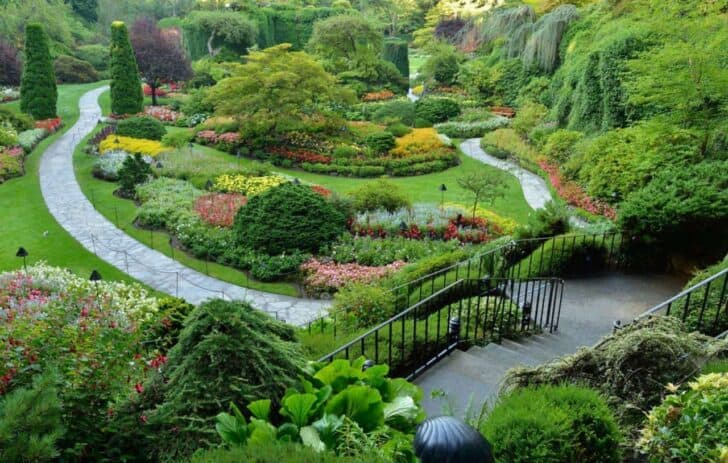 100 most beautiful landscape garden slope ideas