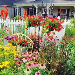 Wicker Chairs For Sale Potty Boys Picket Fence Garden • 1001 Gardens