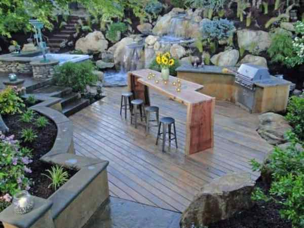 diy outdoor patio kitchen ideas Top 20 DIY Outdoor Kitchen Ideas   1001 Gardens