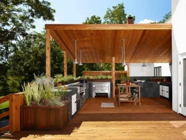 diy outdoor patio kitchen ideas Outdoor Kitchen Ideas Top 20 • 1001 Gardens