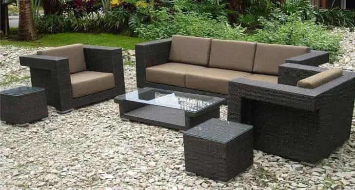 wicker patio furniture ideas trend