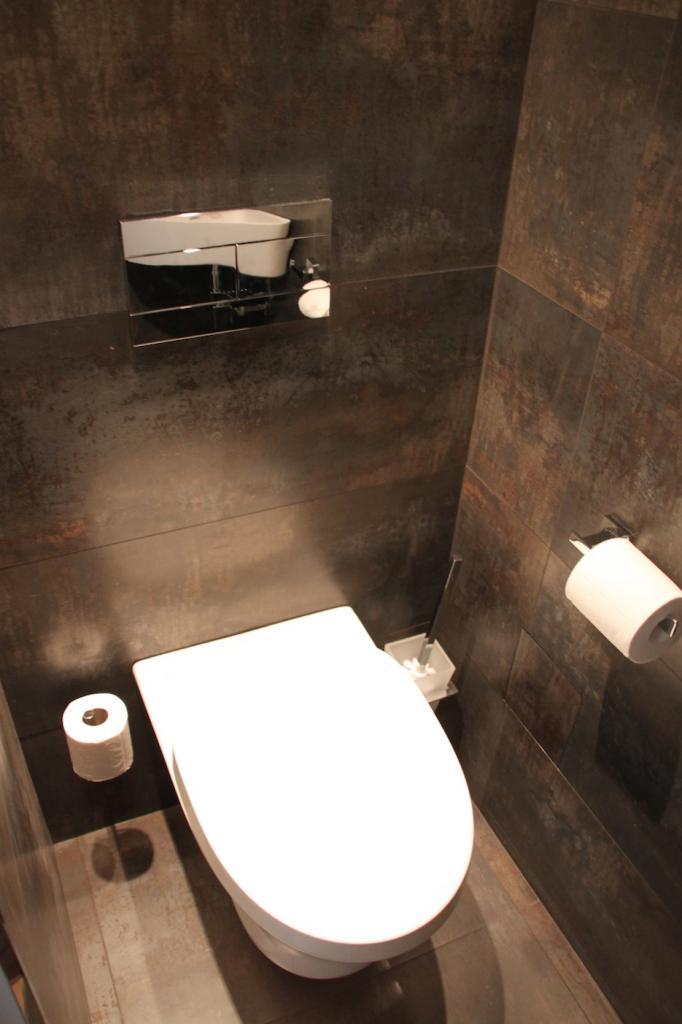 Amnagement de placard sous escalier wc design