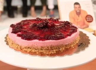 cheesecake cereja