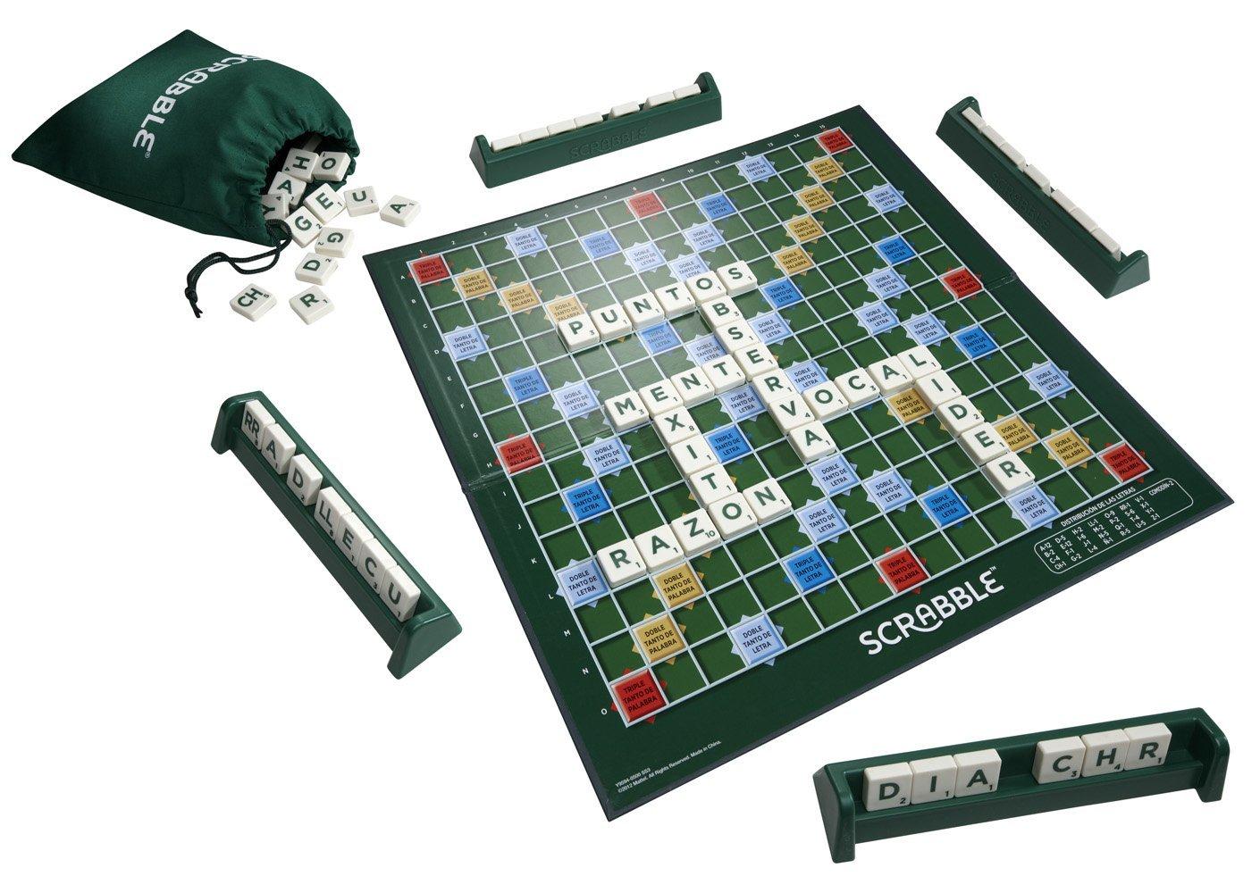 Scrabble Original Mattel Y9594  1001Juguetes
