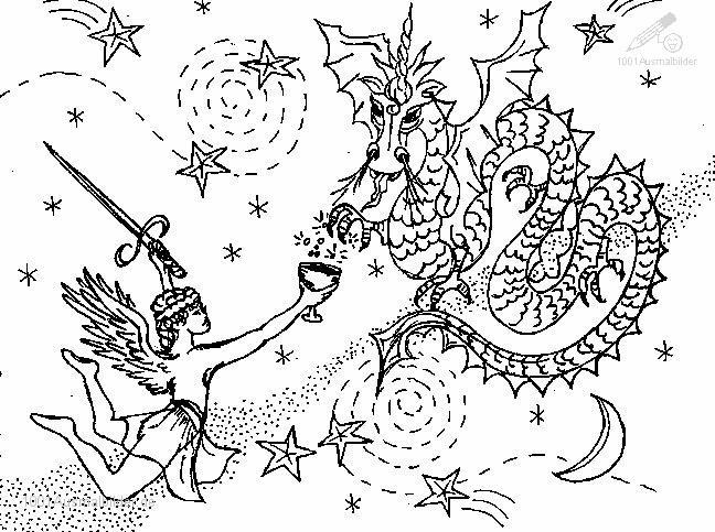 Drachen und andere Fabelwesen - Bilder Tattoos Geschichten