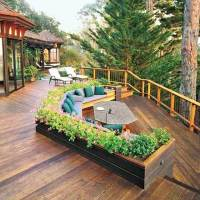 Backyard Decorating Ideas With Decks And Woodworking ...