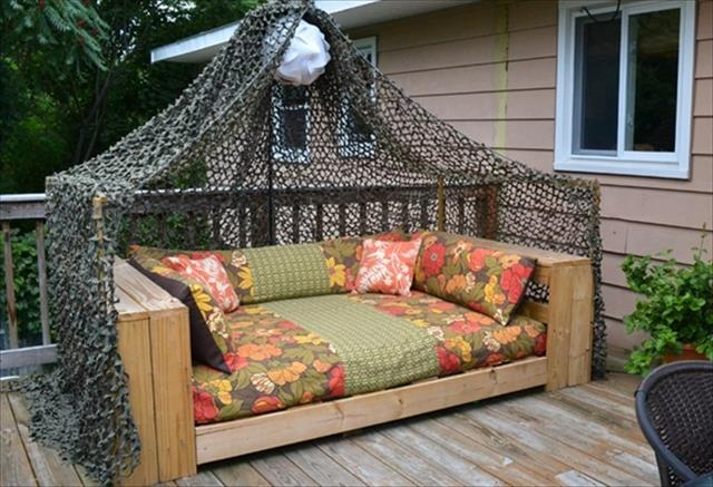 Bench Made Out Old Furniture