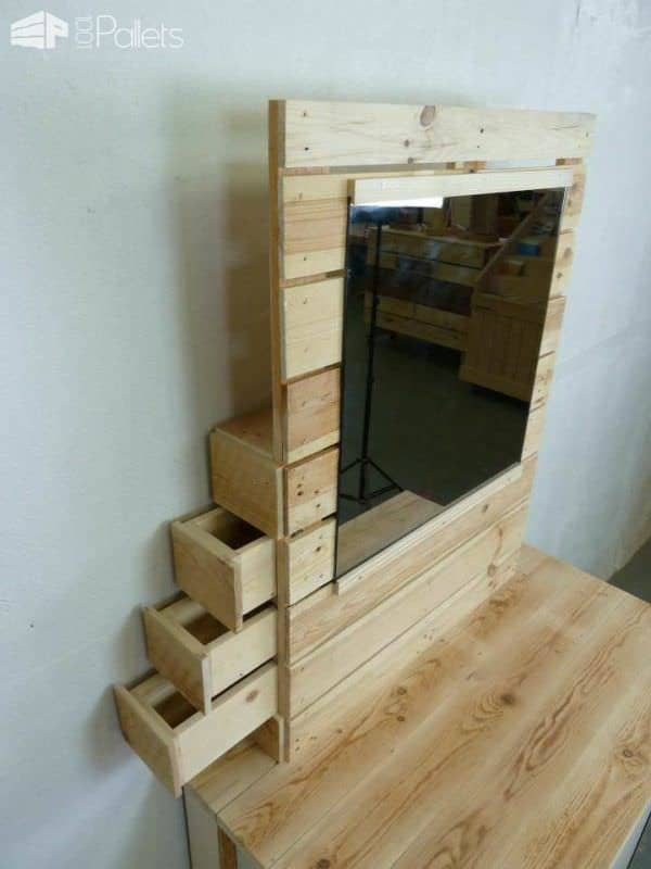 Pallet Dresser With Side Drawers 1001 Pallets