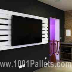 Diy Dining Room Chairs Plans Back Jack Chair Pallet Wall Tv Holder • 1001 Pallets